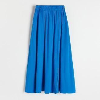 Reserved - Spódnica z wiskozy - Niebieski