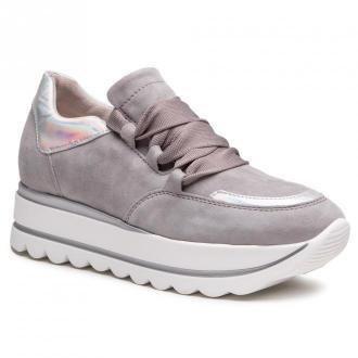 Sneakersy GABOR - 63.411.19 Grau/Silber