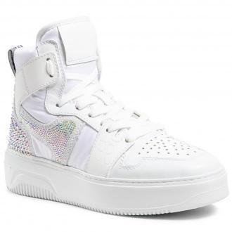 Sneakersy FABI - FD7014  Pum.Bian/New Bomb.Bia/Sah.Bia