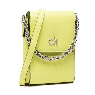Torebka CALVIN KLEIN - Ns Mini Bag W/Flap K60K608179 Sunny Lime LLD