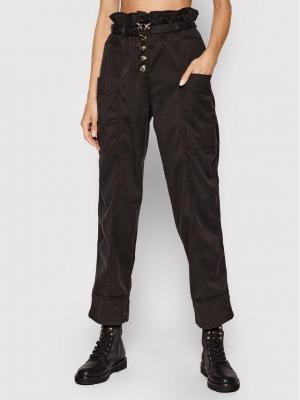 Pinko Spodnie materiałowe Botanica 1N137D Y7M5 Czarny Regular Fit
