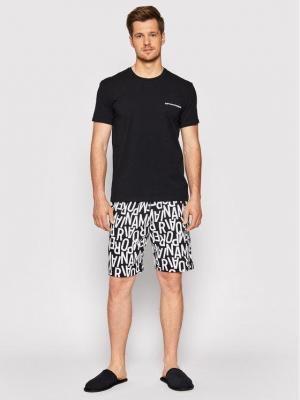 Emporio Armani Underwear Piżama 111893 1P506 98620 Czarny