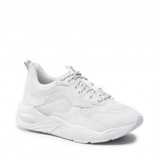 Sneakersy TIMBERLAND - Delphiville Textile Sneaker TB0A219C100 White Mesh