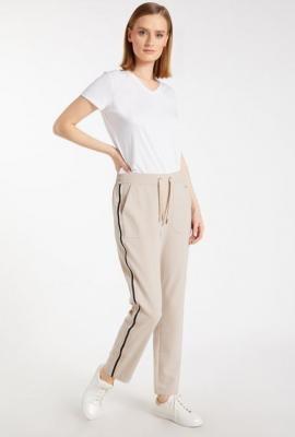 Spodnie damskie z lampasami