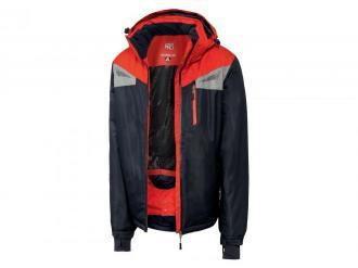 CRIVIT®PRO Funkcyjna kurtka męska narciarska (48, Granatowy/czerwony)
