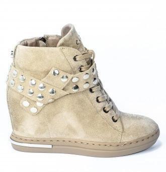 Sneakersy Carinii B7021-O17-000-000-B88 Beż