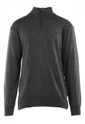 Ciemnoszary Sweter Z Wełną Avoah