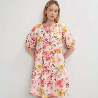Mohito - Sukienka w kwiatowy wzór - Wielobarwny
