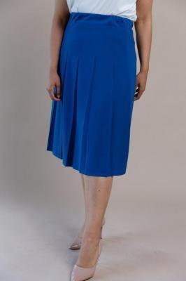 Chabrowa Spódnica NONA Plus Size
