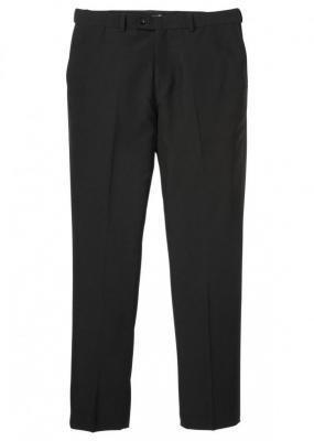 Spodnie garniturowe modułowe, Slim Fit bonprix czarny