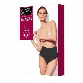 Gatta Wyszczuplające Bikini High Waist, Black, XL