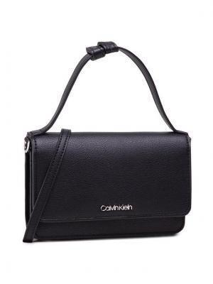 Calvin Klein Torebka Flat Wallet Mini Bag W/Top H K60K608134 Czarny