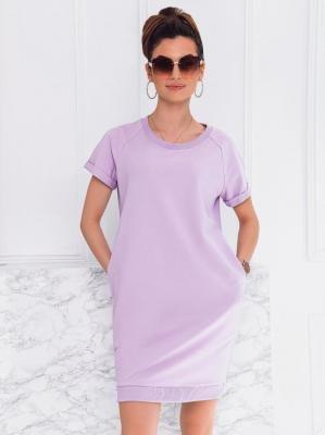 Sukienka damska 008DLR - fioletowa - S/M