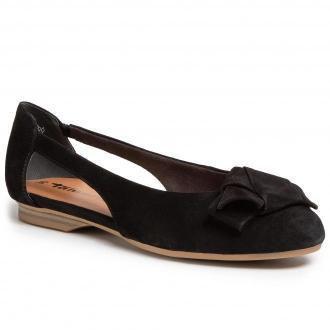 Baleriny TAMARIS - 1-22106-24 Black 001