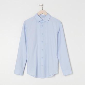 Sinsay - Koszula slim fit - Niebieski