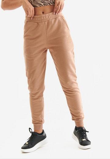 Jasnobrązowe Spodnie Dresowe Badura Florinis
