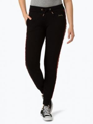 Superdry - Damskie spodnie dresowe, czarny