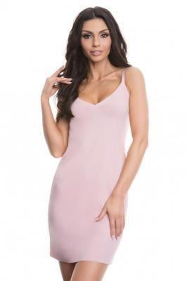 Julimex Lingerie Halka Soft & Smooth Halka pod sukienkę, róż