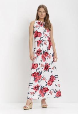 Biała Sukienka Rimulus