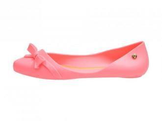 Różowe meliski buty damskie baleriny Vices PT4