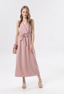 Różowa Sukienka Ocearith
