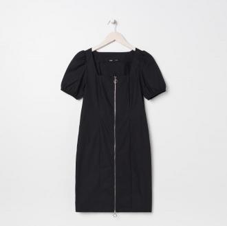 Sinsay - Sukienka z suwakiem - Czarny