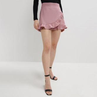 Mohito - Spódnico-spodenki - Różowy