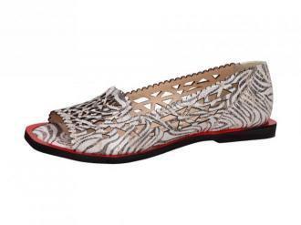 Beżowe POLSKIE sandały damskie SUZANA 3029A