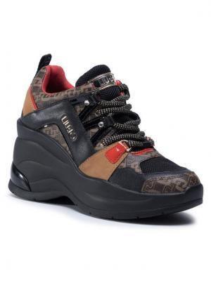 Liu Jo Sneakersy Karlie Revolution 26 BF0095 EX066 Czarny