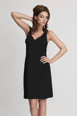 Mewa 4127 Halka pod sukienkę, czarny