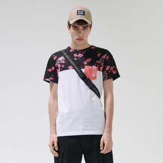 Cropp - Koszulka z kieszenią - Czarny