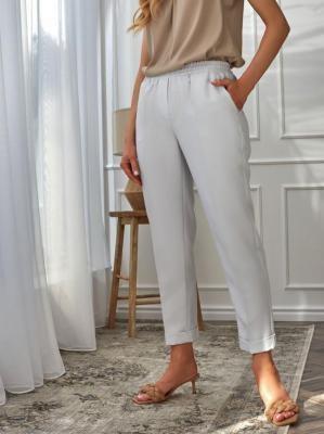 Casualowe spodnie z podwijanymi nogawkami Premiera Dona REGI