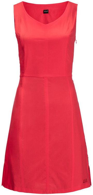 Jack Wolfskin Costa Calma Dress Women, czerwony XS 2021 Sukienki