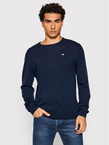 Sweter Damavand C 3 NP0A4FQ6 Granatowy Regular Fit
