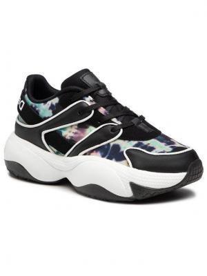 Desigual Sneakersy Chunky 21SSKP22 Czarny