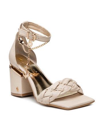 Sandały B7081 Złoty