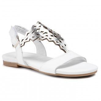 Sandały TAMARIS - 1-28184-26 White/Silver 171