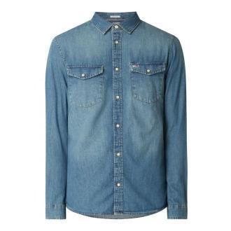 Koszula jeansowa o kroju regular fit z bawełny