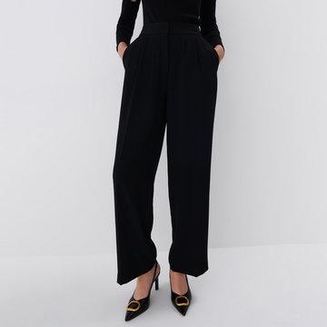 Mohito - Szerokie spodnie - Czarny
