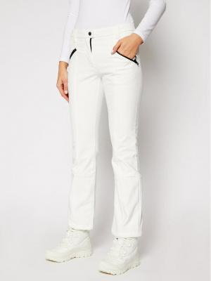 CMP Spodnie narciarskie 38A1586 Biały Regular Fit