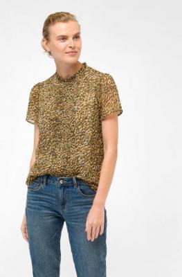 Szyfonowa bluzka ze wzorem