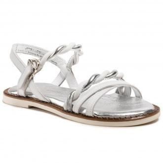 Sandały TAMARIS - 1-28148-26 White/Silver 171