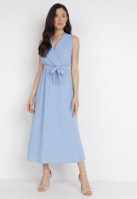 Niebieska Sukienka Ocearith