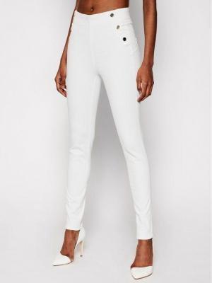 Guess Jeansy W1GA56 D4DN1 Biały Skinny Fit