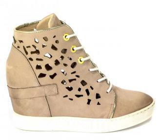 Sneakersy Letnie Carinii B4027/O-J60-J16-000-B88 Beż