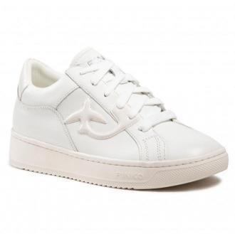 Sneakersy PINKO - Liquirizia 6 Sneaker PE 21 BLKS1 1H20WW Y76Y Bianco Z04