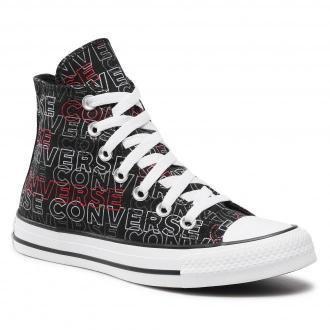 Trampki CONVERSE - Ctas Hi 170108C Black/University Red/White