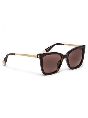 Furla Okulary przeciwsłoneczne Sunglasses SFU509 WD00023-A.0116-AN000-4-401-20-CN-D Czarny