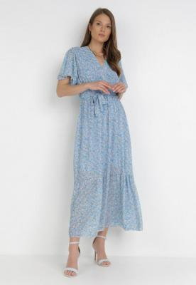 Jasnoniebieska Sukienka Maranvile