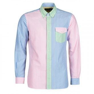 tekstylia Polo Ralph Lauren  CHEMISE AJUSTEE FUNSHIRT EN OXFORD COL BOUTONNE  LOGO PONY PLAYE